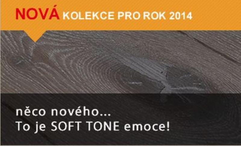 ESCO podlahy - nová kolekce pro rok 2014. SOFT TONE – to jsou emoce…..