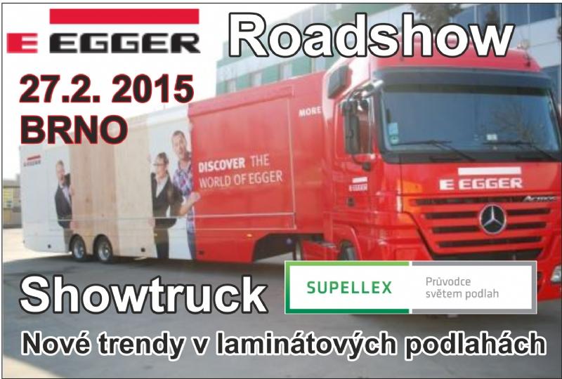 Egger Roadshow - Nové trendy v laminátových podlahách 2015