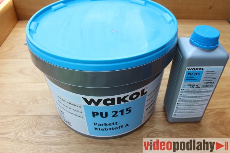 Lepidlo na dřevěné podlahy Wakol PU 215 - polyuretanové lepidlo dvousložkové