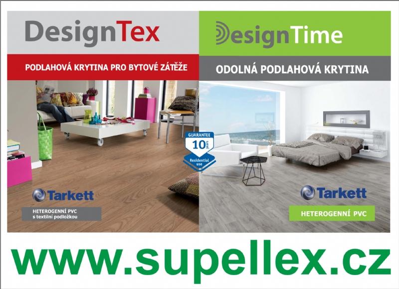 Bytové a zátěžové PVC - DesignTime a DesignTex