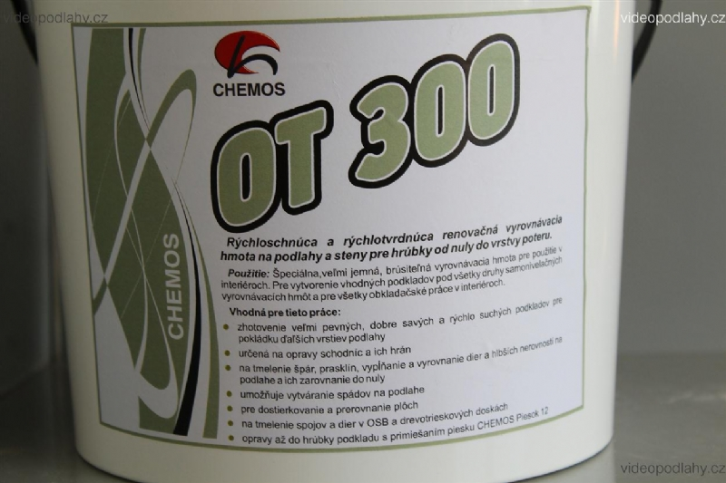 Opravný tmel chemos ot 89