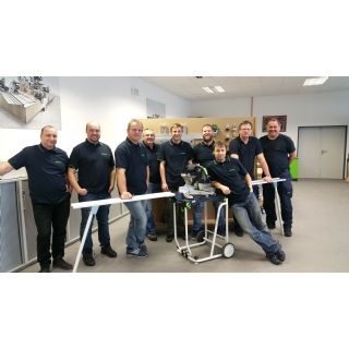 Festool Team techniků a podlahářů